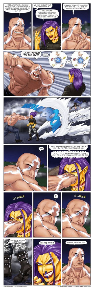 Grrl Power #258 – Unstoppable force, meet Maxima's face