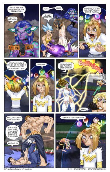 "Grrl Power #276 – It's not cheating, it's ""boosting"""