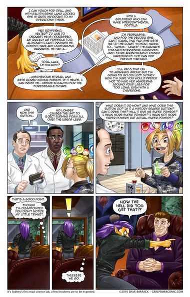 Grrl Power #412 – How long can trusty Recruit Scoville hold out?