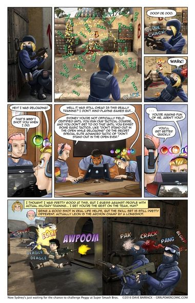 Grrl Power #419 – Lacking in tactics