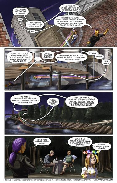 Grrl Power #438 – Umbrageous rendezvous