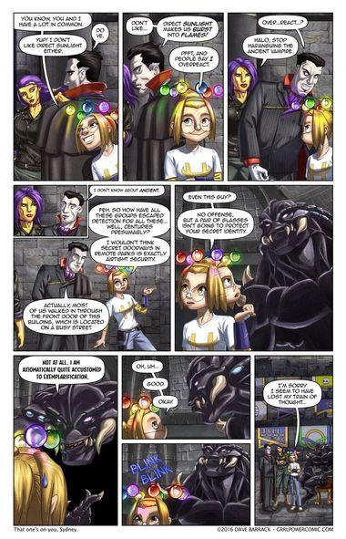 Grrl Power #454 – Monster shock