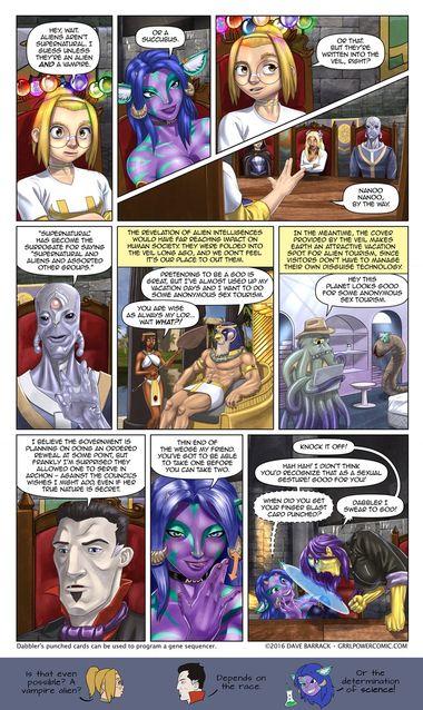 Grrl Power #461 – Clandestilen