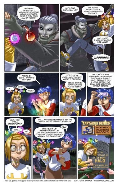Grrl Power #501 – 1-Down