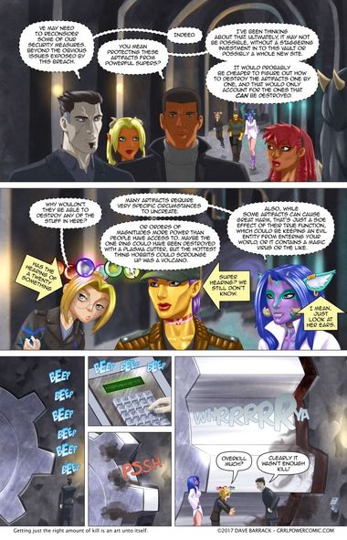Grrl Power #560 – Questions of security