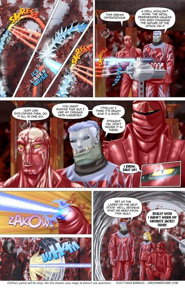 Grrl Power #565 – Thermal shock knock knock
