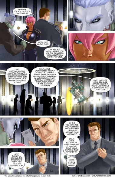 Grrl Power #568 – Customer service with an evil smile