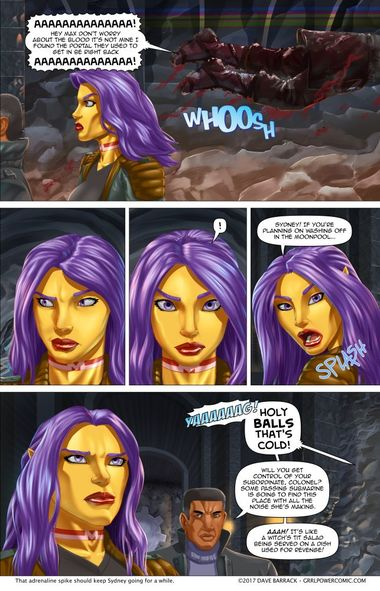 Grrl Power #581 – Cleanliness is next to coldliness