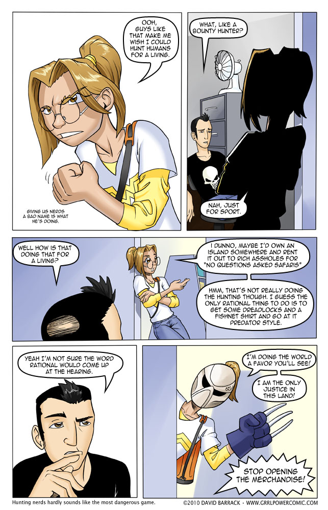 Grrl Power #14 – The 8th or 9th Most Dangerous Game