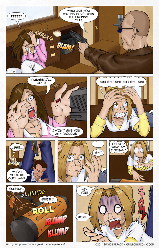 Grrl Power #37 – Butt Kicking in 5…