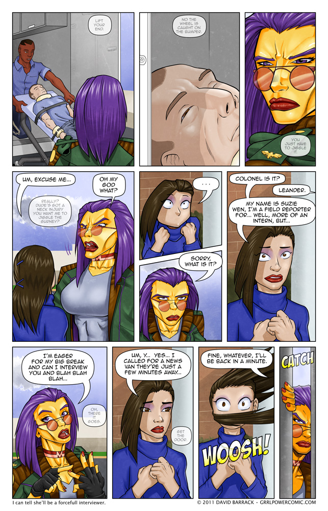 Grrl Power #52 – Meet the Press. Sort of.