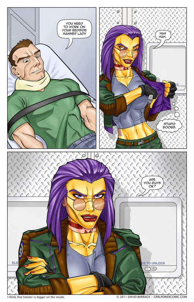 Grrl Power #55 – Well now that's suspicious