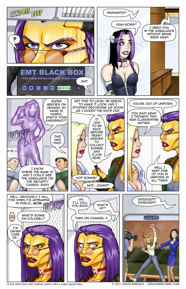 Grrl Power #60 – Operation Cover Our Asses
