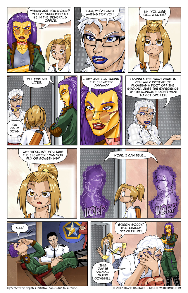 Grrl Power #76 – I think she'll integrate well