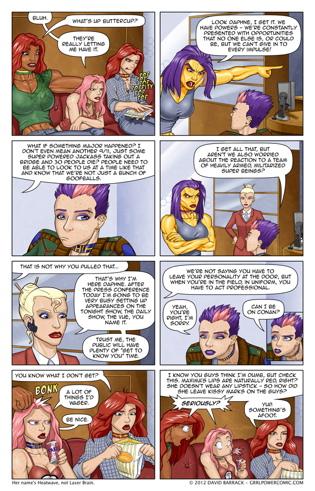 Grrl Power #77 – She'll get there eventually