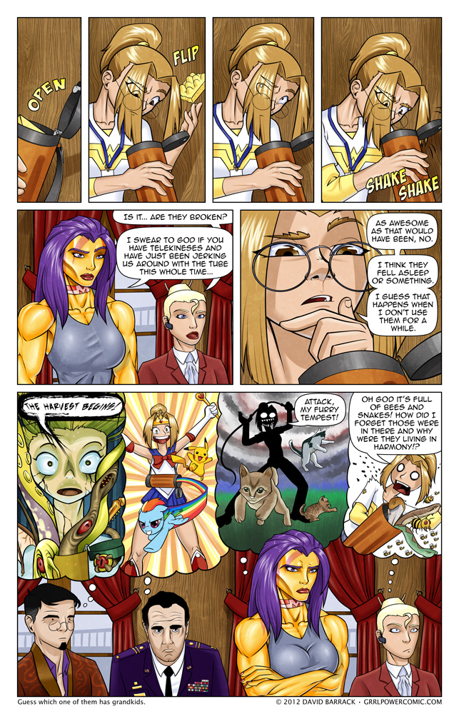 Grrl Power #85 – Wild imaginings. Hopefully.