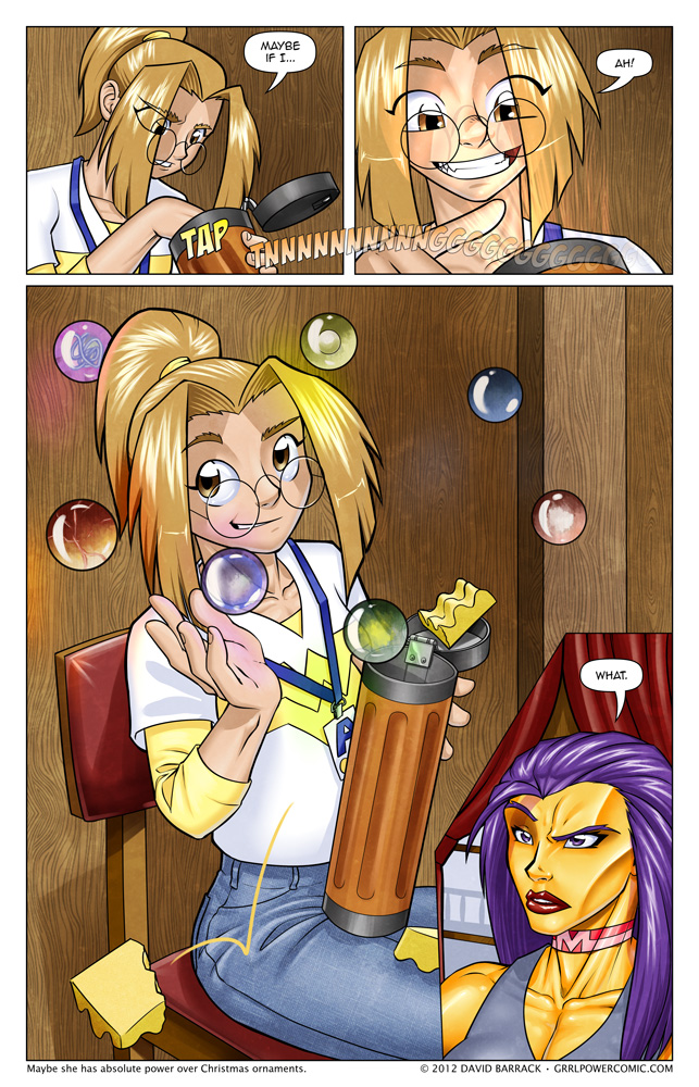 Grrl Power #86 – OMG It's… The hell are those?