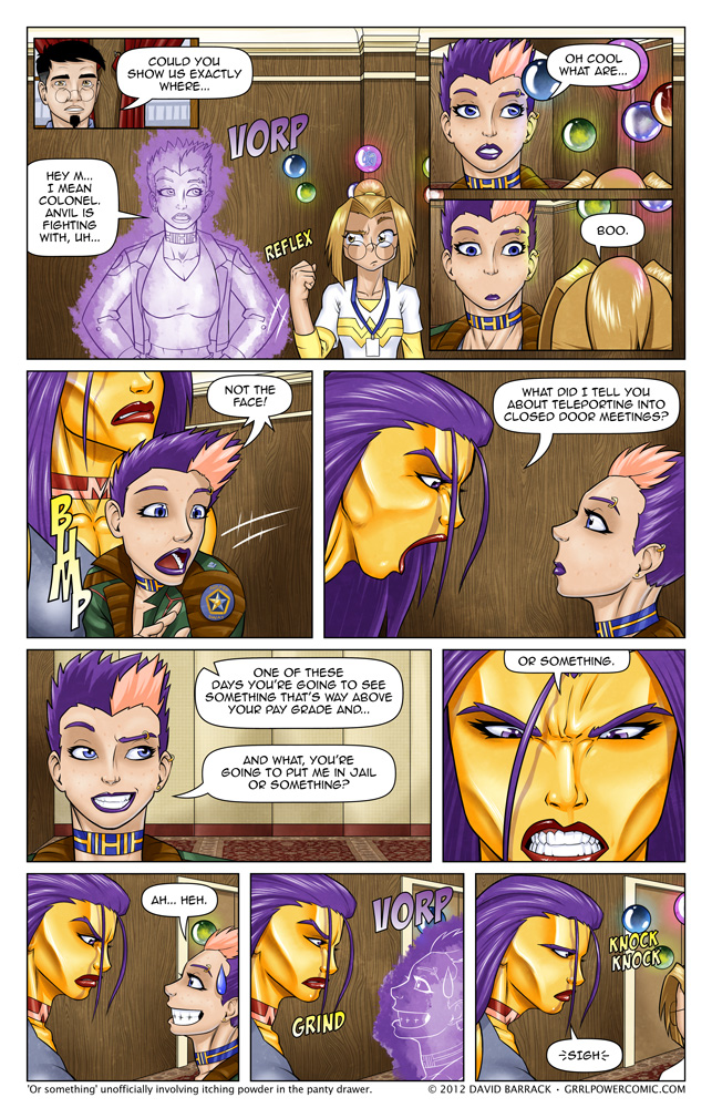 Grrl Power #95 – Harem, sometimes spelled NJP