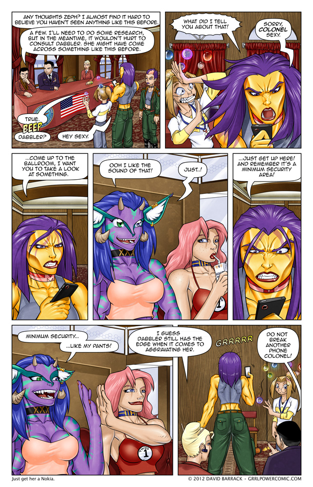 Grrl Power #99 – This is how you tug on Maxima's cape