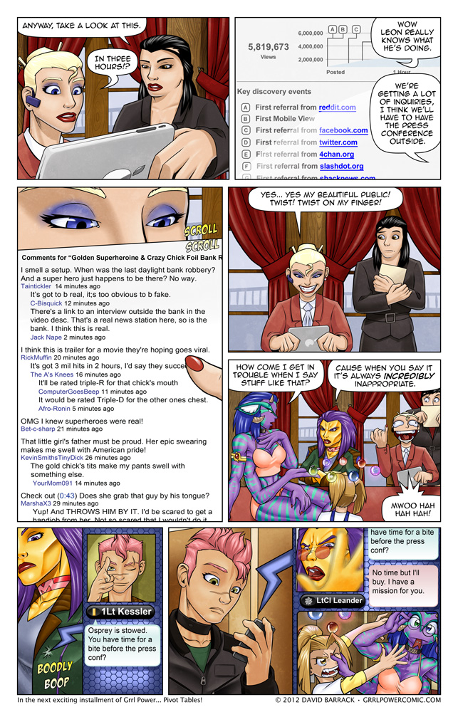 Grrl Power #108 – The Passion of the PR Lady