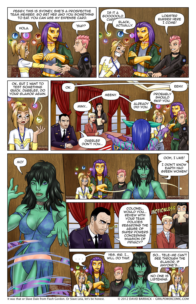 Grrl Power #109 – Innate abuse