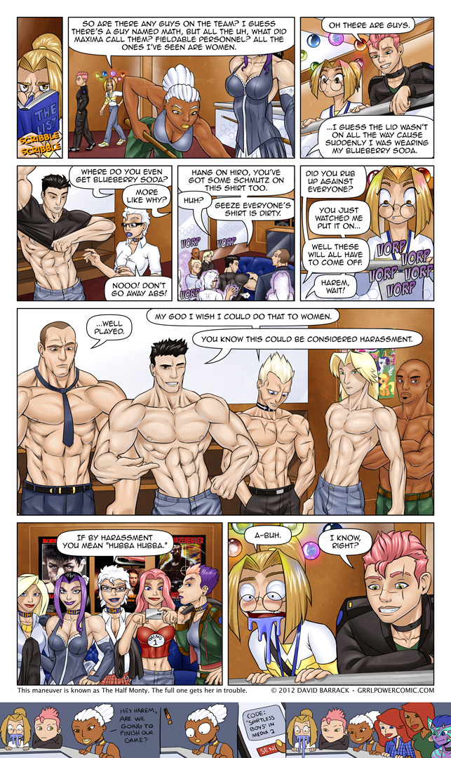 Grrl Power #112 – Hot Beefcake Injection