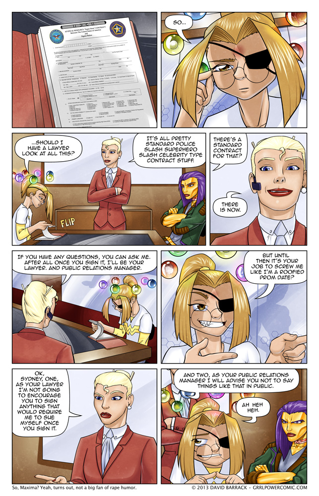 Grrl Power #125 – Action packed document review