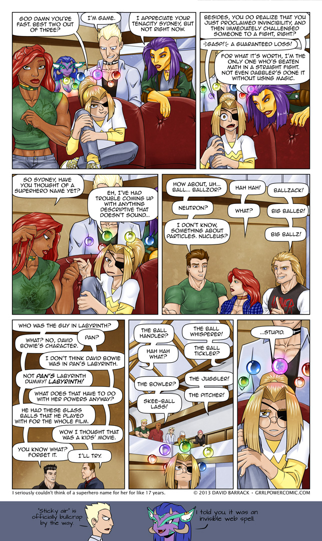 Grrl Power #134 – Sobriquet Quest