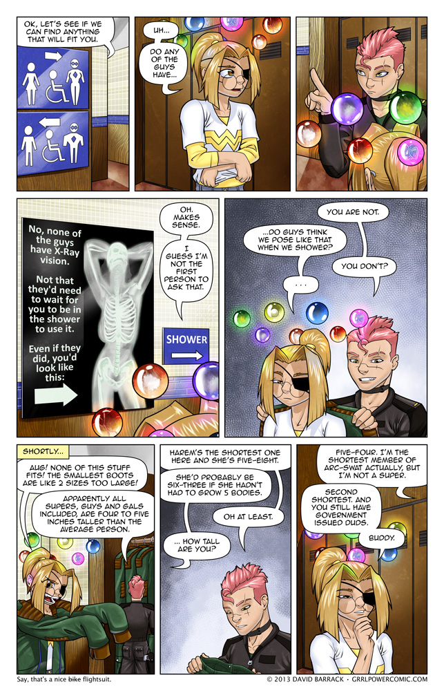 Grrl Power #137 – I hear shampoo works better if you writhe