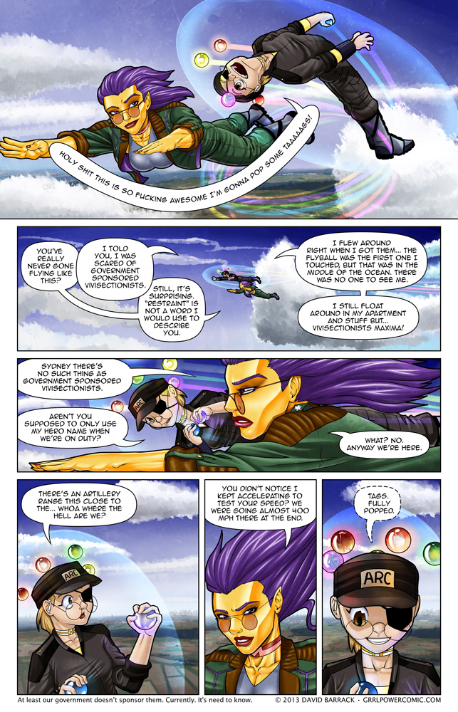 Grrl Power #158 – The joy of flight