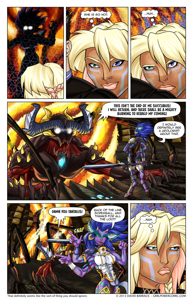 Grrl Power #176 – Intergalactic baggage