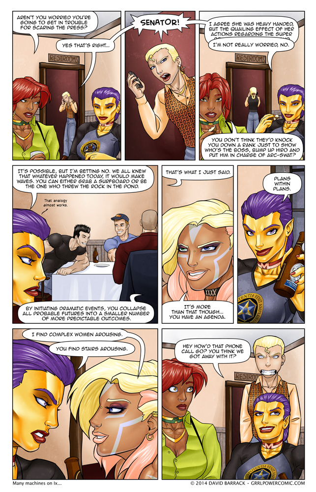 Grrl Power #184 – Battling the future with rocks?
