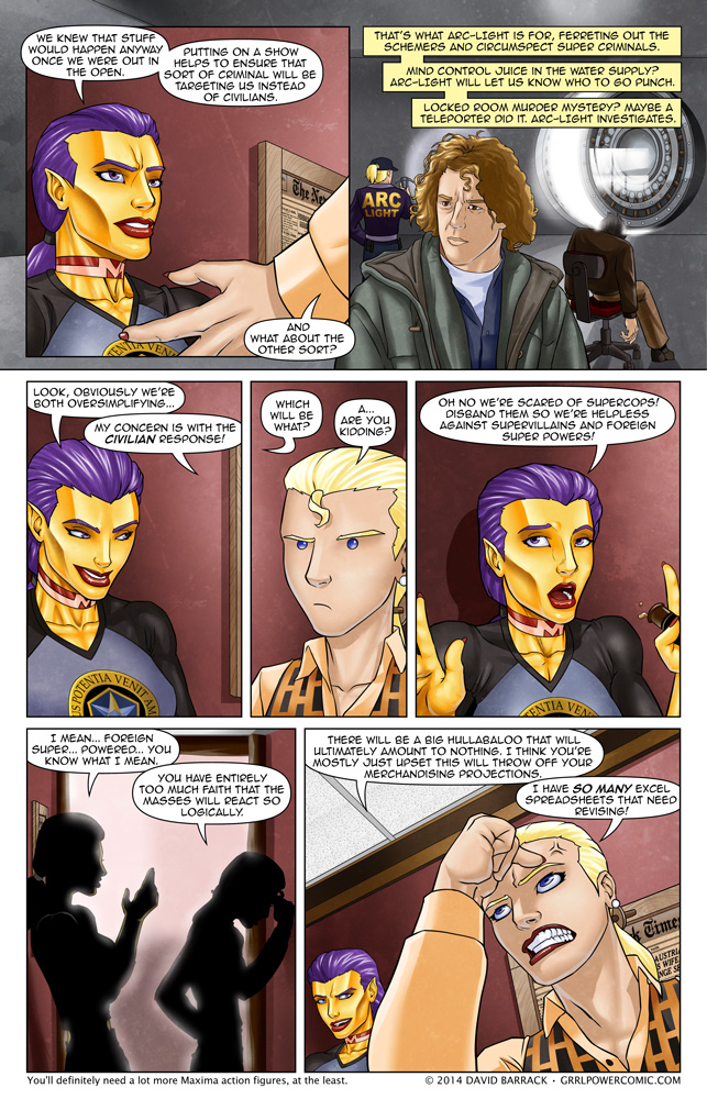 Grrl Power #187 – The Arc-Files?