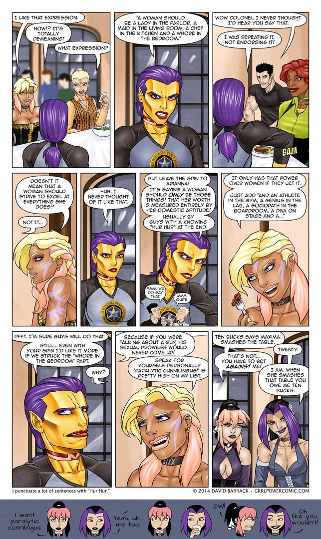Grrl Power #197 – Feminist v. feminist