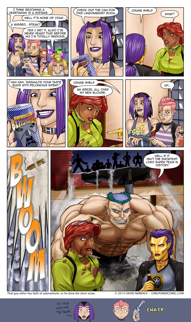 Grrl Power #200 – Something finally happens