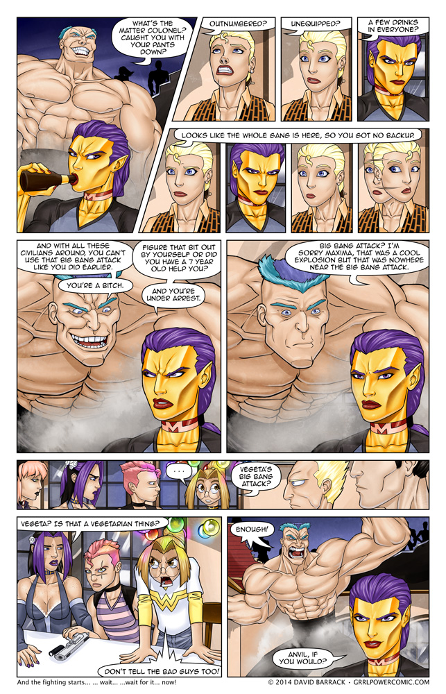 Grrl Power #201 – Prerequisite monologue