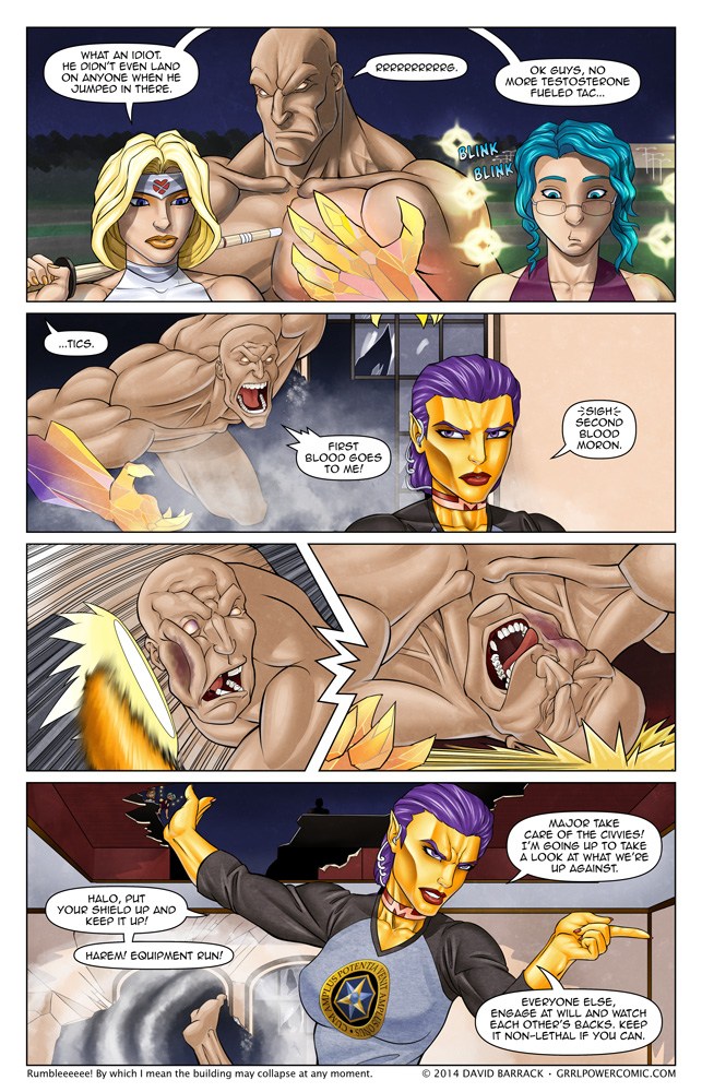 Grrl Power #203 – Backhands and commands
