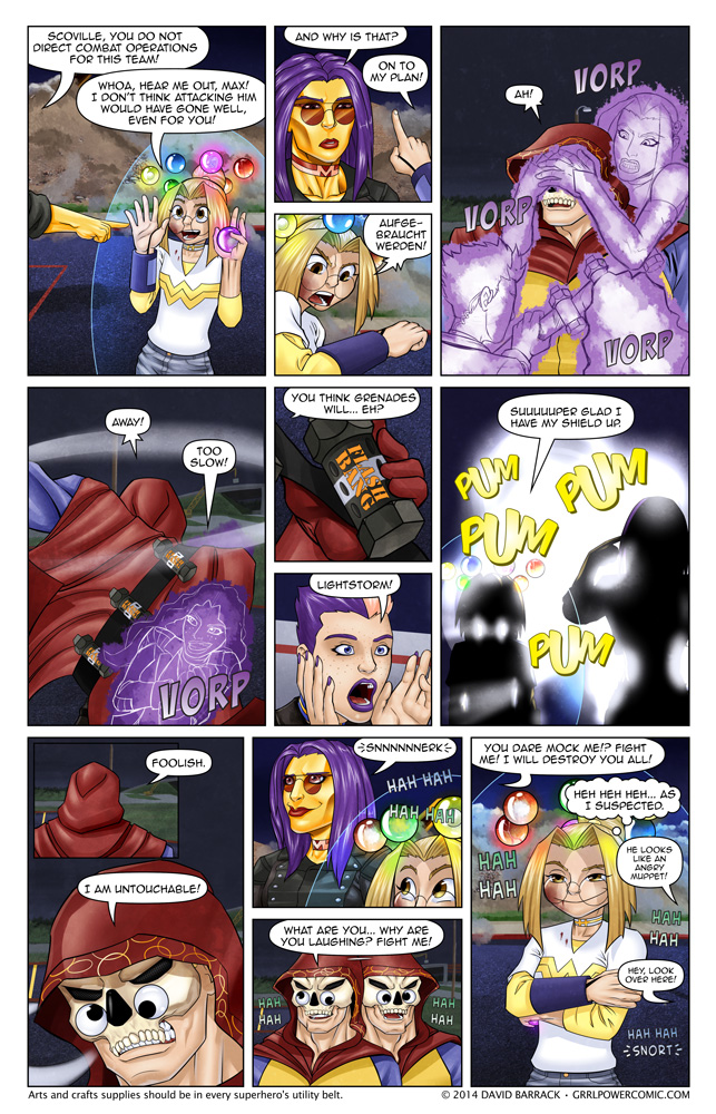 Grrl Power #245 – Operation angry muppet