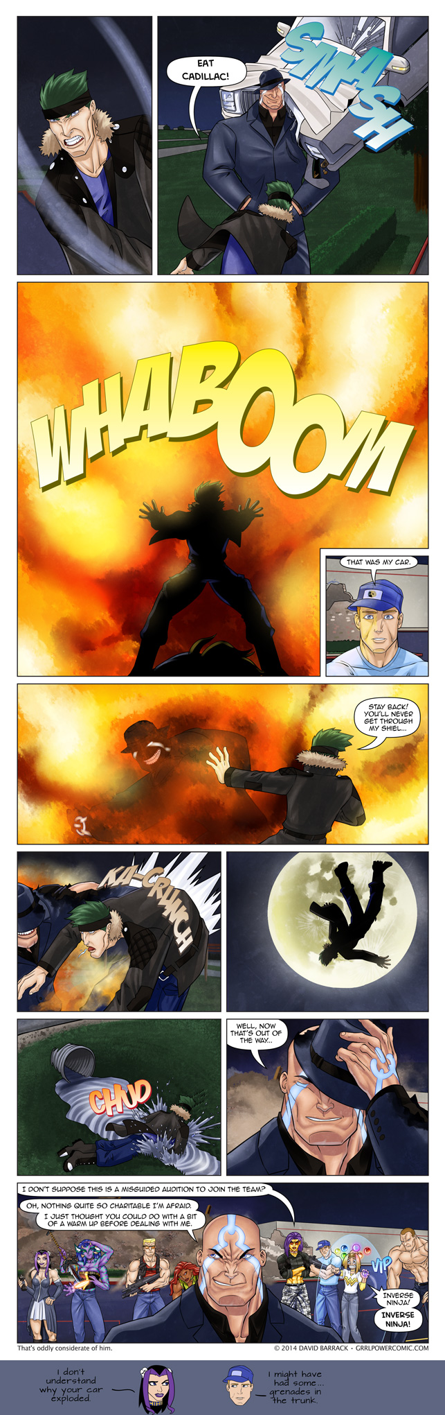 Grrl Power #250 – It's only overconfidence if he loses