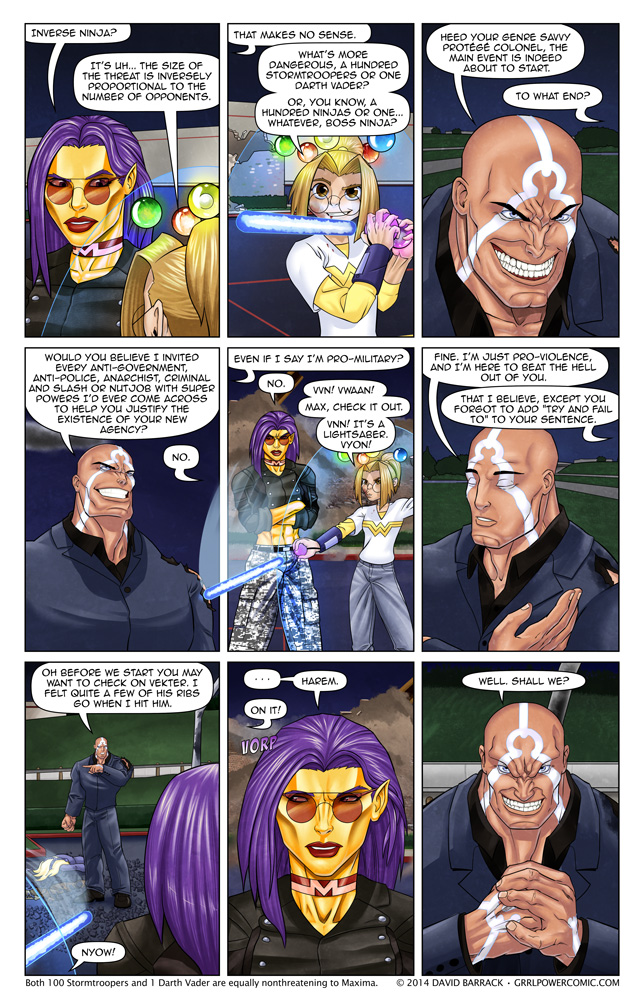 Grrl Power #251 – Circuitous motive man