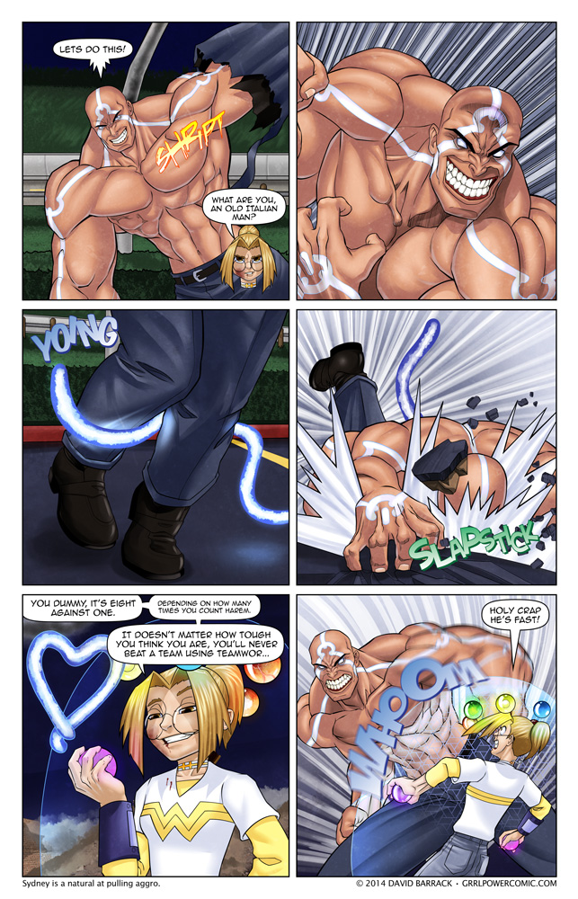 Grrl Power #252 – A mighty blow… to the ego