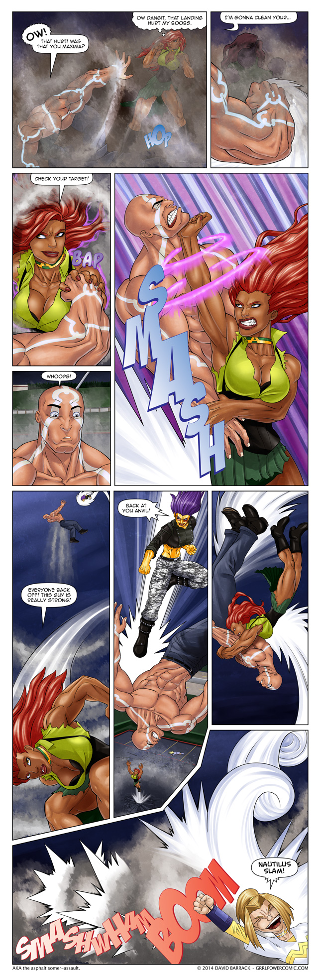 Grrl Power #255 – The ARC Wrestling Federation