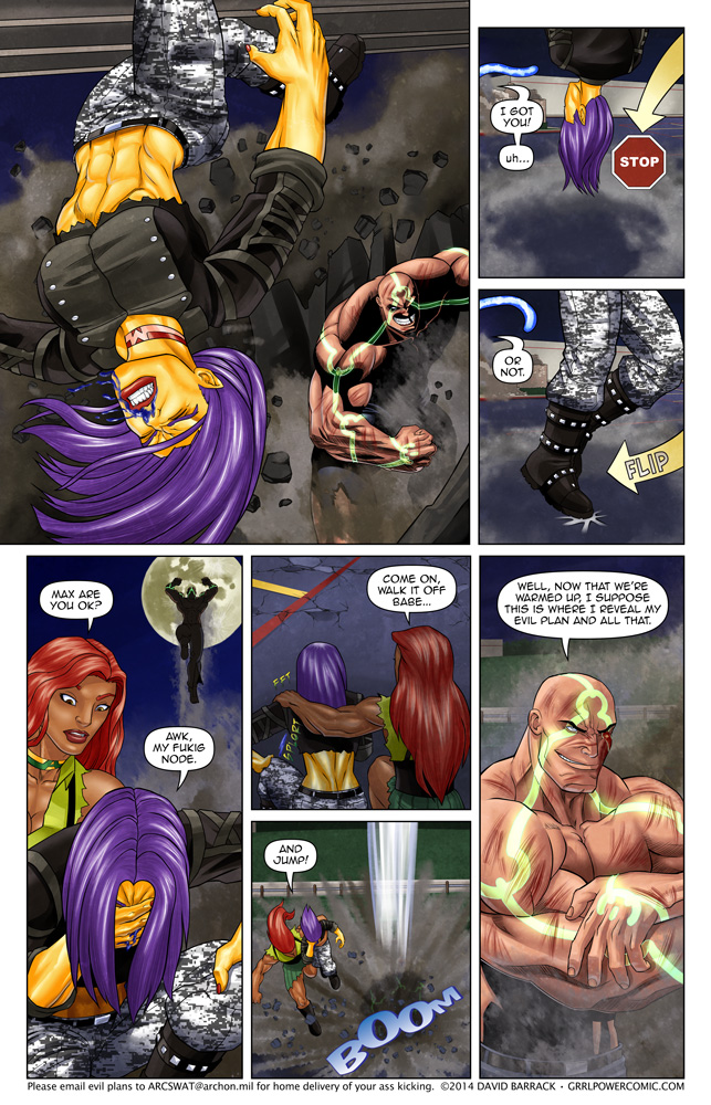 Grrl Power #263 – Don't do it you fool!