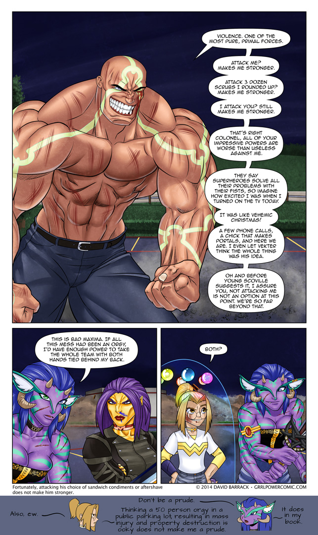 Grrl Power #265 – In summation…
