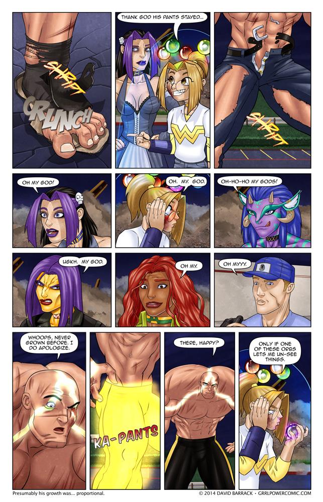 Grrl Power #268 – Vehemence revealed