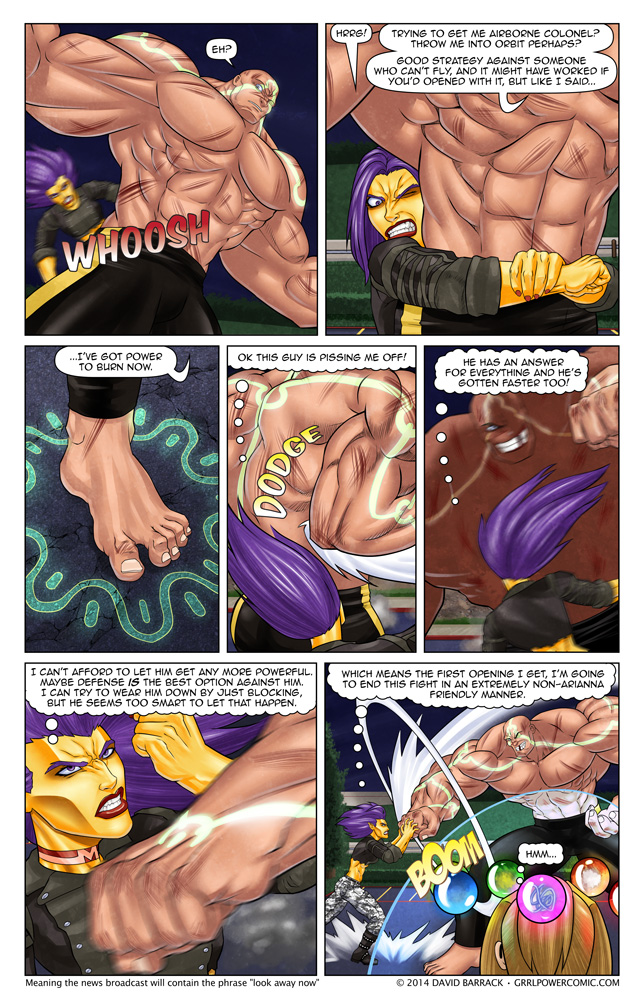 Grrl Power #270 – Options dwindling