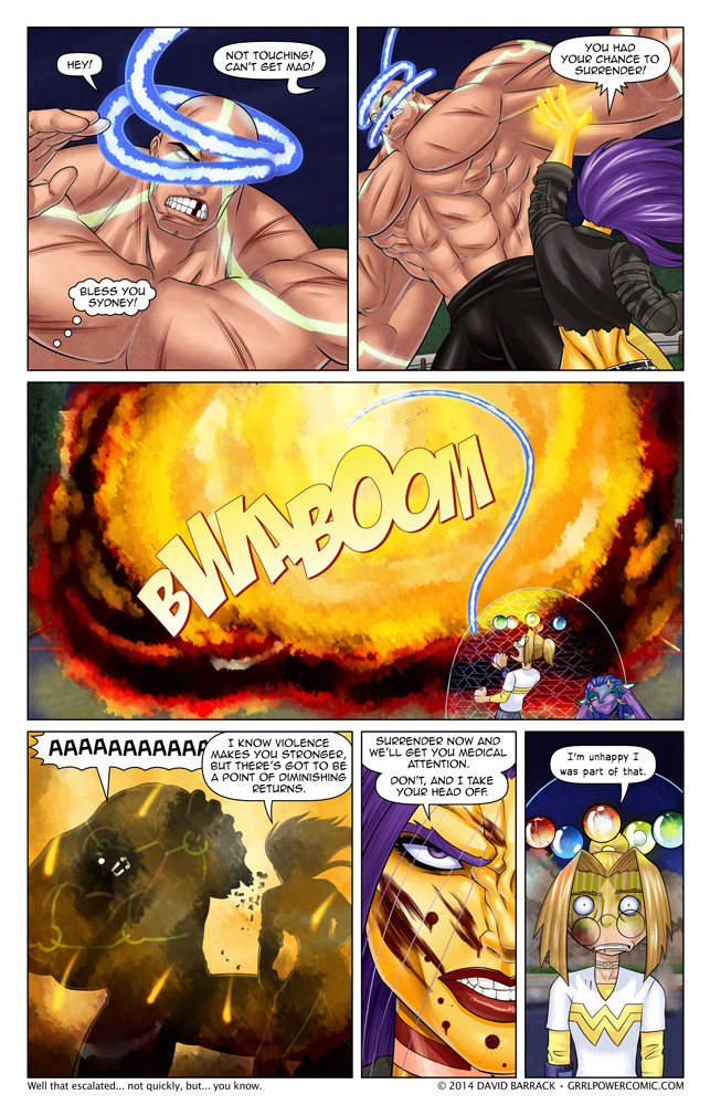 Grrl Power #271 – How do you disarm someone with super powers?