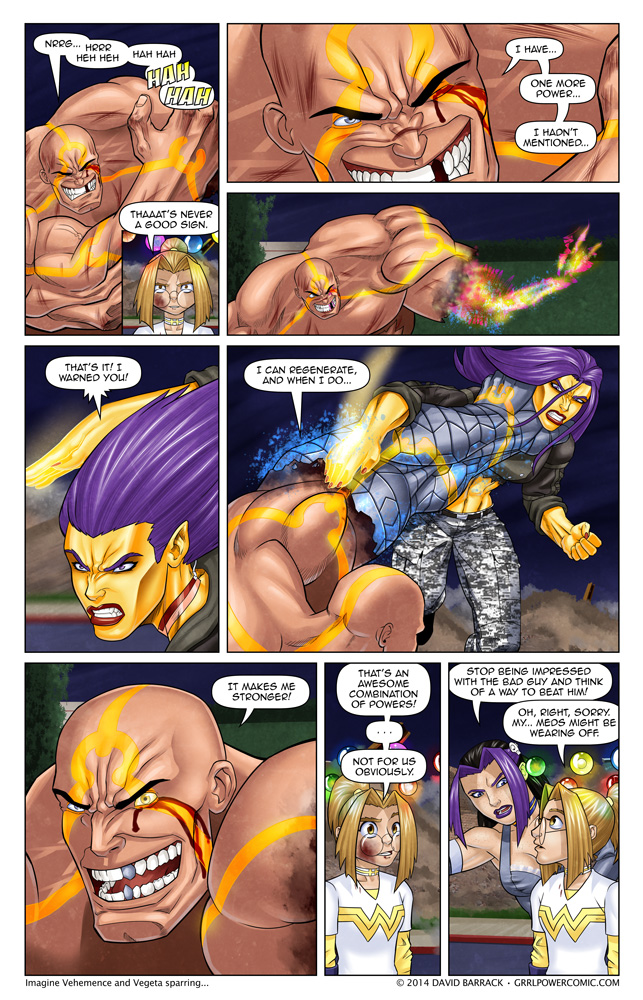 Grrl Power #272 – Sandbagger Vance