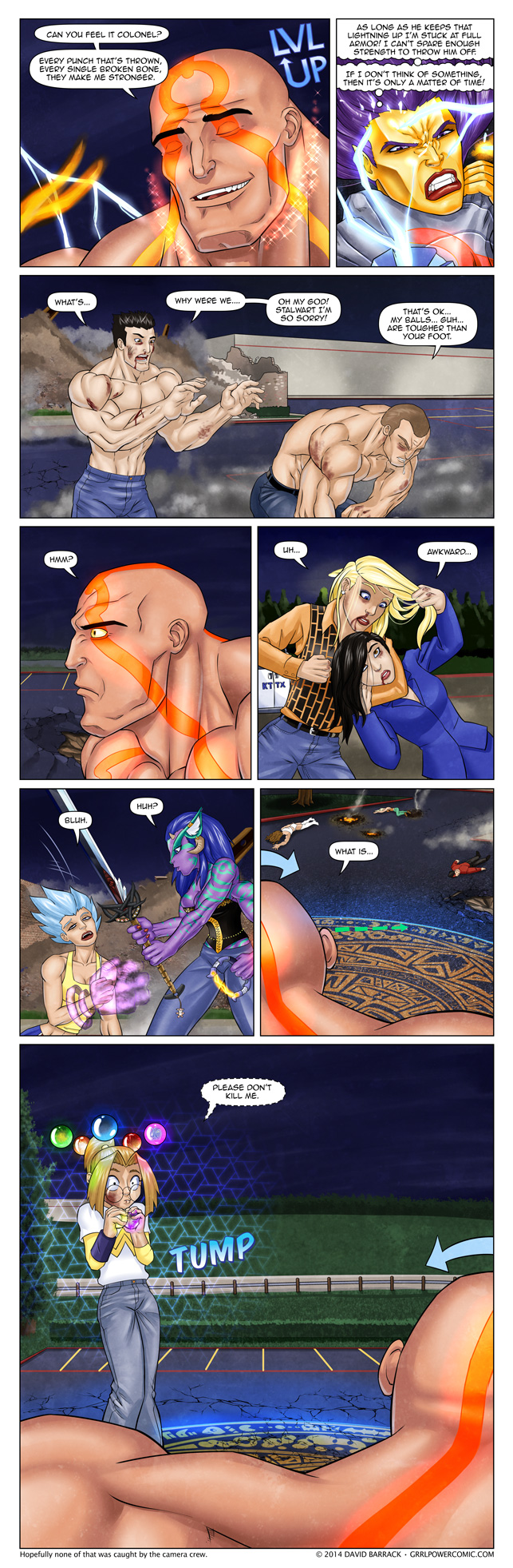 Grrl Power #279 – High risk reversal
