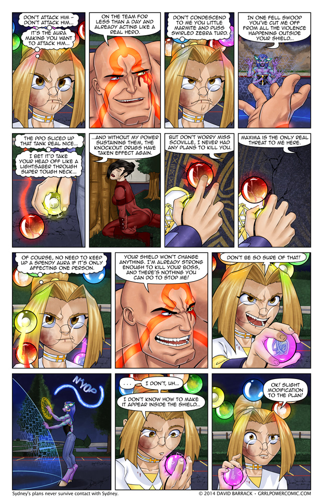 Grrl Power #280 – An inauspicious start